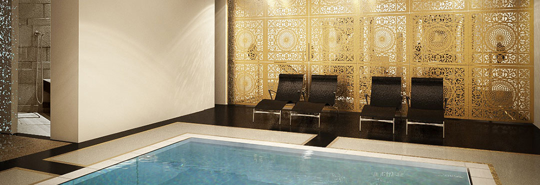 Residenza-SPA Privata, Dubai (Eua)